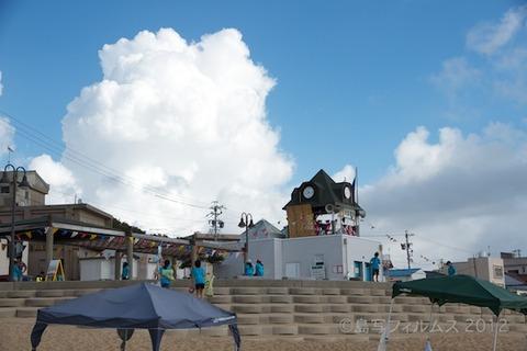 ウミガメ隊_クリーンアップ大作戦_2012-08-22 07-52-48