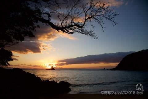 松島の夕日_汐味海岸_2018-01-02_16-44-39