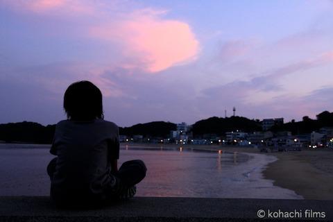 島写_前浜_夕日_篠島_風景_観光_2011-06-13 19-14-08