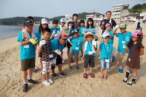 篠島ウミガメ隊クリーンアップ大作戦2012-07-25 07-39-27