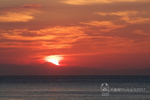 朝日_篠島前浜_富士山_2017-05-27 04-46-28 - 2017-05-27 04-46-28