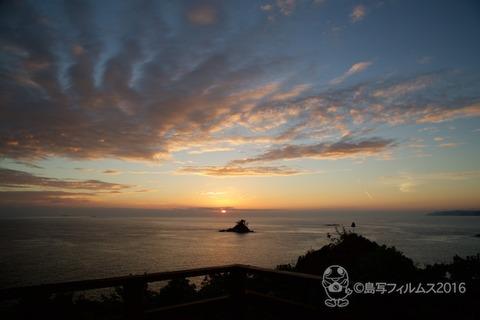 松島の夕日_太一岬_2016-09-27_17-33-01