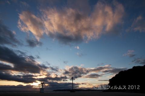 漁港_夕日_篠島_風景_写真_2012-05-04 18-19-57
