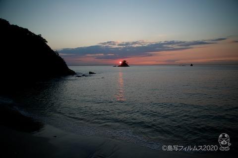 松島の夕日_鯨浜_2020-10-12_17-12-27