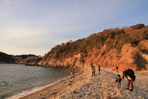 島写_松島の夕日2011-03-05 17-26-45