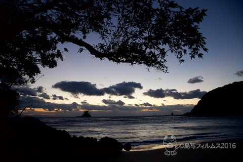 松島の夕日_汐味海岸_2016-11-09_17-12-12