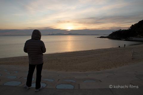 篠島前浜_初日の出_2012-01-01 07-13-05