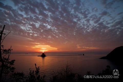 松島の夕日_歌碑公園_2020-11-06_16-46-37