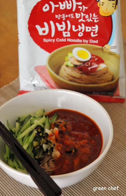 11 即席韓国冷麺−1