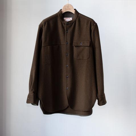 comm.ウールシャツ