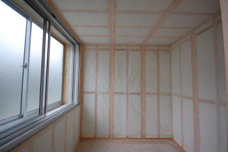 スーパーストラクチャーC仕様壁天井