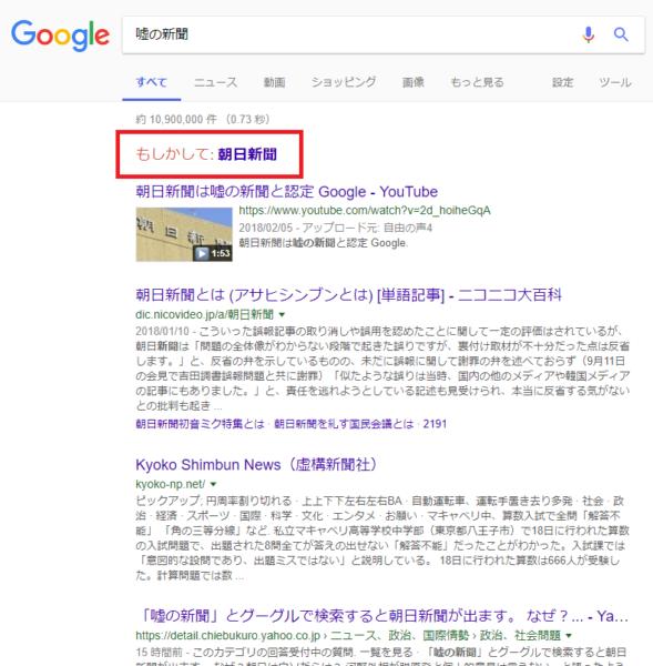 【ネット検索】OK グーグル!「嘘の新聞」って一体何処の事なんだい?