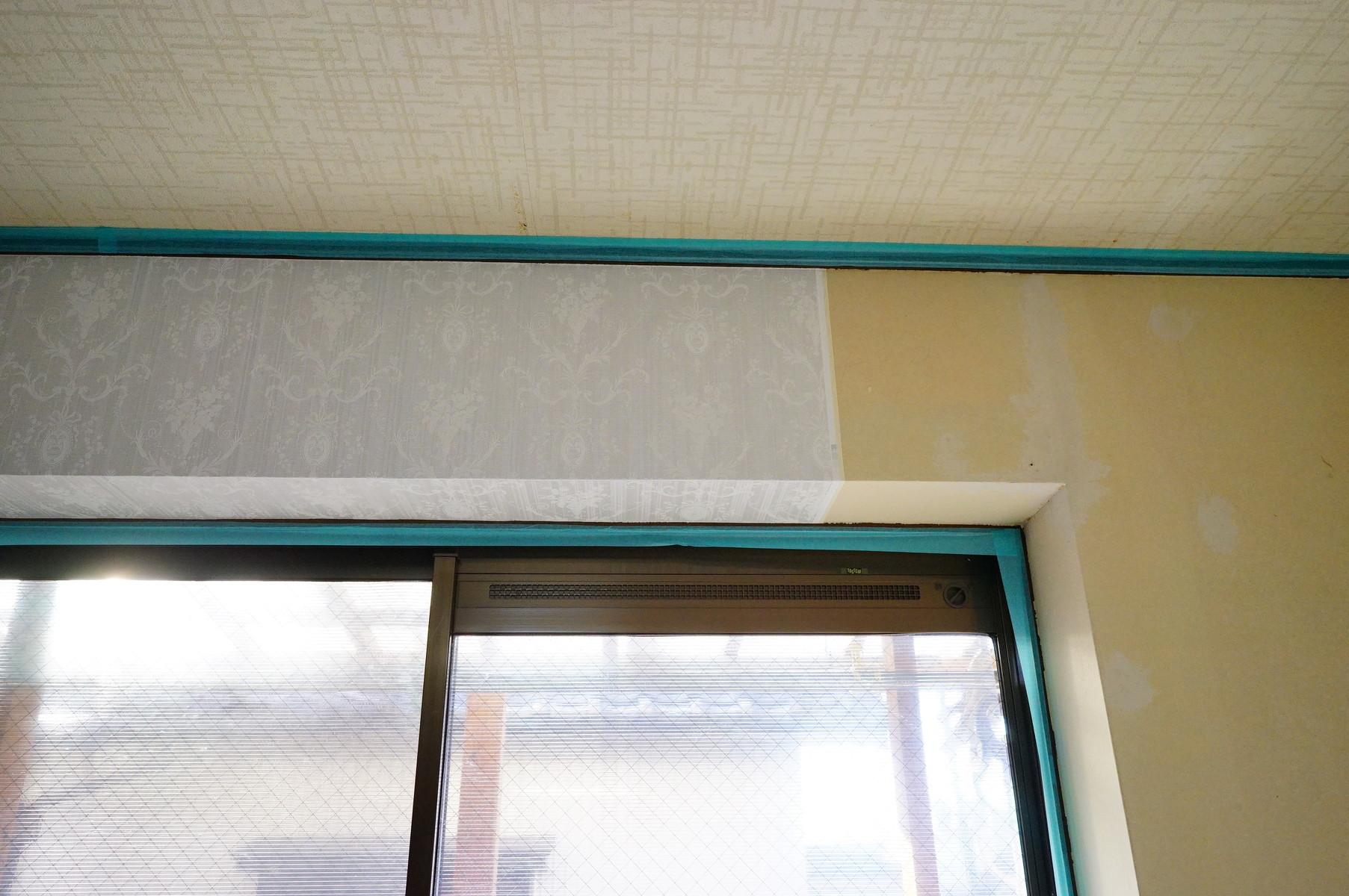 2階寝室の残り3面に壁紙を貼り替えました 趣味の 写真 Diy