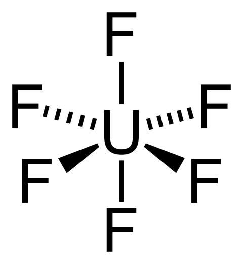 Uranium-hexafluoride-2D