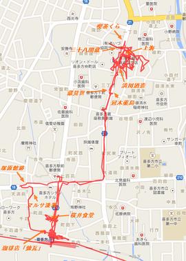 喜多方マップ