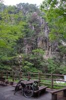 昇仙峡の岩峰