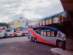 チェンマイのバスステーション