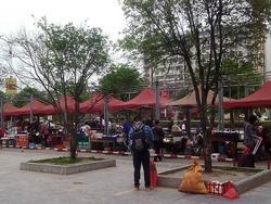 桂林北バスターミナル前