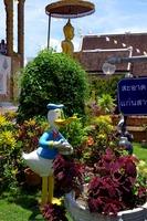 Wat Bupparamのドナルドダック