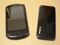 携帯と比較