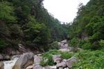 昇仙峡の渓谷