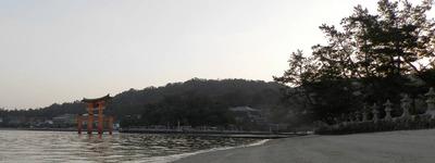 西松原からの大鳥居