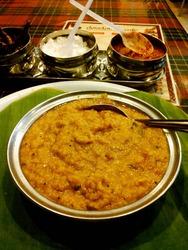 インドで初の食事