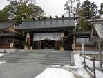 元伊勢籠神社の神門