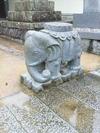 吉祥寺山門の象