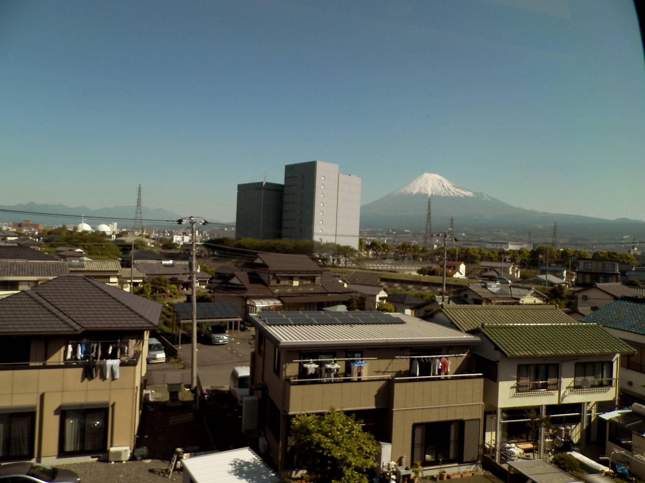 自転車の 東京 富士山 自転車 ルート : と富士山だ! 昨年は富士山 ...