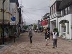 軽井沢のショッピング街