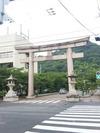 護国神社の鳥居