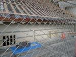 復元工事中の橋爪門