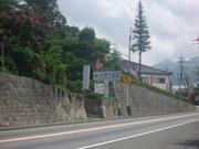 大善寺前を通過