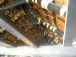 和田家の茅葺屋根の裏2