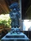 青龍寺の不動明王