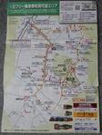 周遊バスの路線図