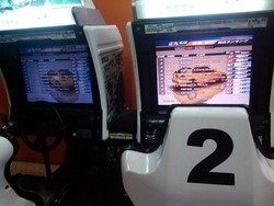 Abirami Mega Mall内のゲームセンター