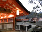 厳島神社の参拝入口