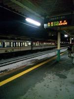 新津駅で乗り換え