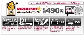 ServersMan SIM 3G 100