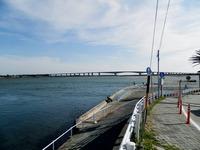 浜名湖と浜名大橋