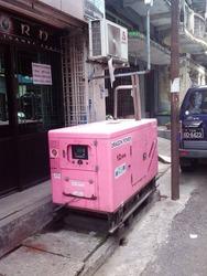 ヤンゴンにも自家発電機