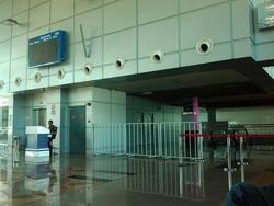 ジョホールバル駅の改札