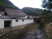熊谷家住宅の裏の小川