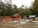 元伊勢籠神社の境内