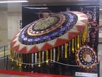 鳥取駅のしゃんしゃん傘