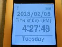 GPS電波時計です