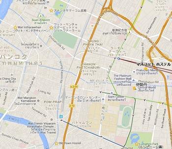 バンコク2散策マップ