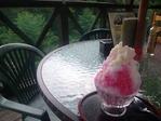 昇仙峡のカキ氷